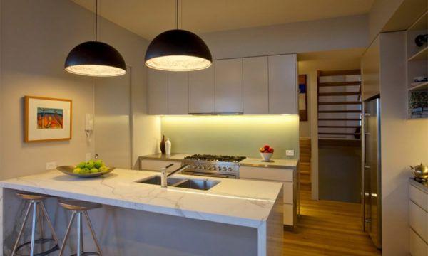 Освещение - это изюминка кухни