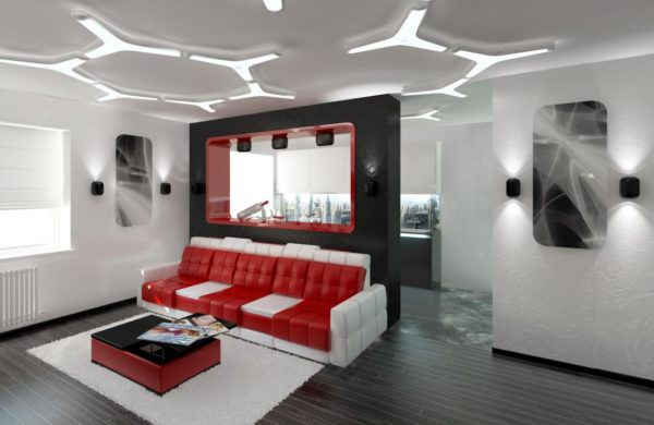 Особенности дизайна квартир в стиле хай-тек