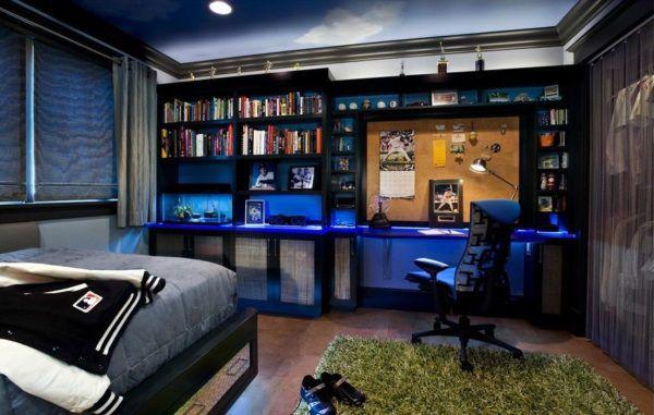Отличная идея - подсветка мебели