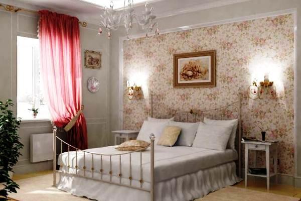 Панно в спальне с большей сдержанностью и лаконичностью