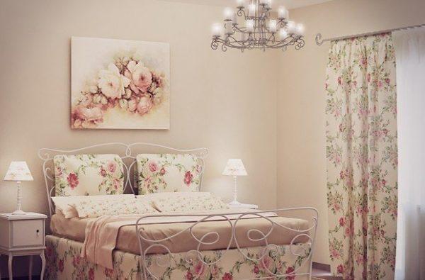 Панно в спальне