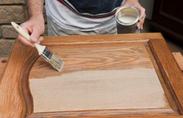 Покраска мебели по частям
