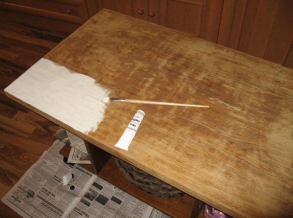 Применяем акриловую грунтовку для деревянных поверхностей