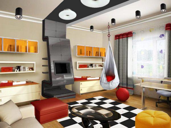 Проекты комнат для подростков