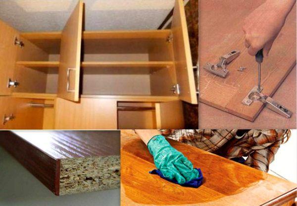 Реставрация корпусной мебели