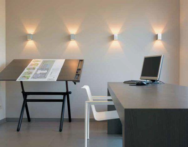 Современные настенные светильники в интерьере