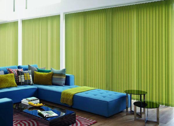 Сочетание зеленого цвета с синим