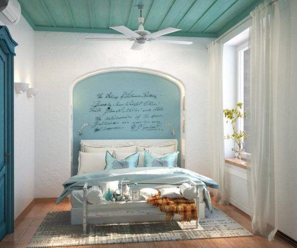 Спальня в средиземноморском стиле