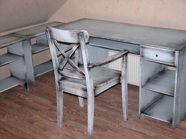 Старая мебель в виде «объекта творчества»