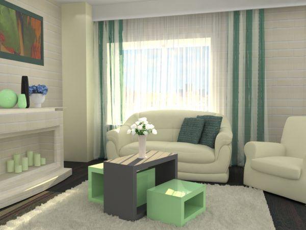 Уютная маленькая гостиная