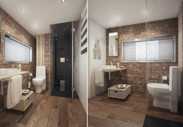 Фото ванной комнаты в стиле Лофт
