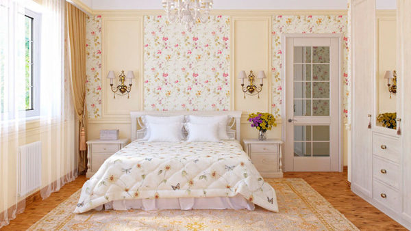 Французский стиль спальни