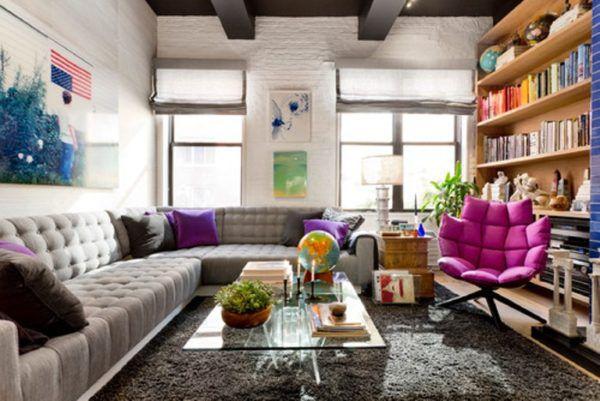 Характерная черта интерьера в американском стиле - простота и практичность