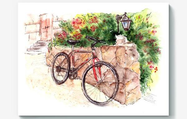 Холсты для живописи в интерьере создают всегда особенное ощущение старины