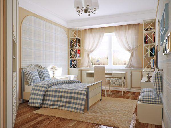 Шикарная детская спальня в стиле прованс для принцессы