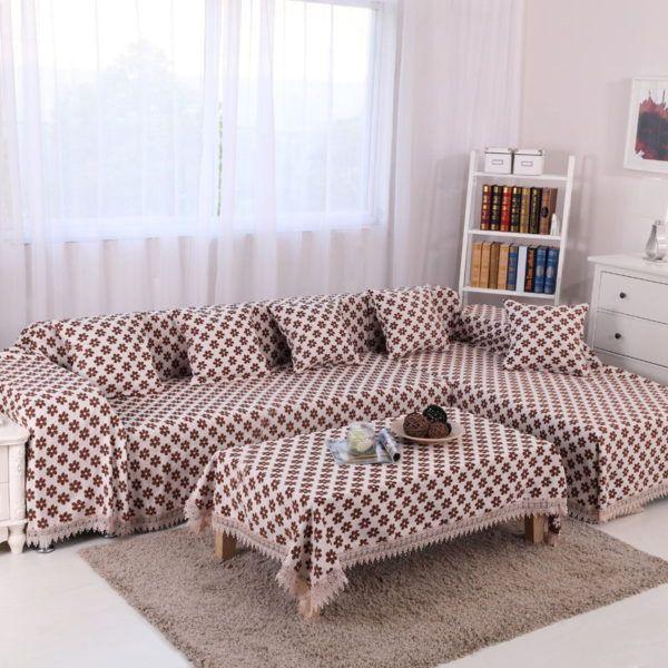 Эффектное обновление старого дивана