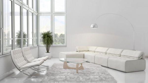 Дизайн квартиры в светлых тонах - современный стиль