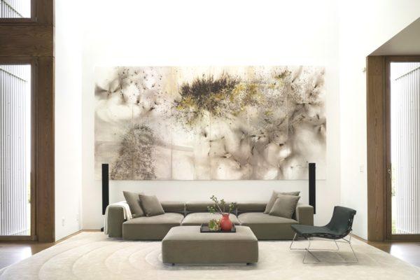 Вариант картины не просто украсит комнату, но и задаст ей настроение
