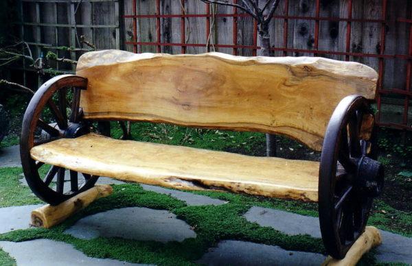 Весёлый вариант скамейки