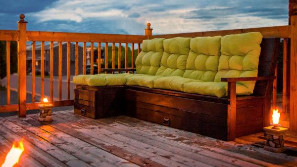 Выдвижная конструкция дивана