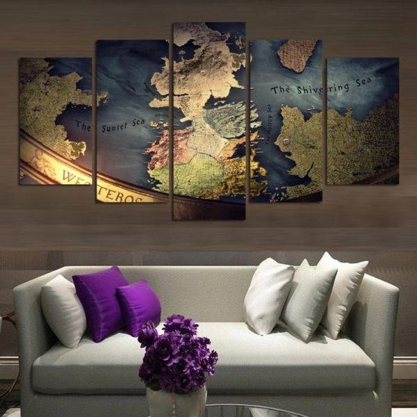География и декор