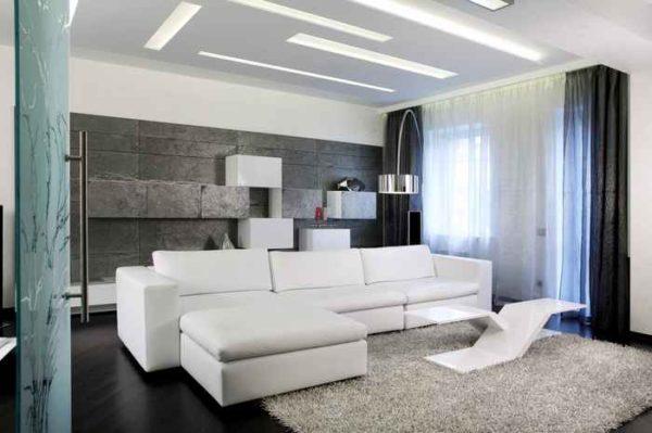 Изменяем геометрию комнаты при помощи продольных источников света