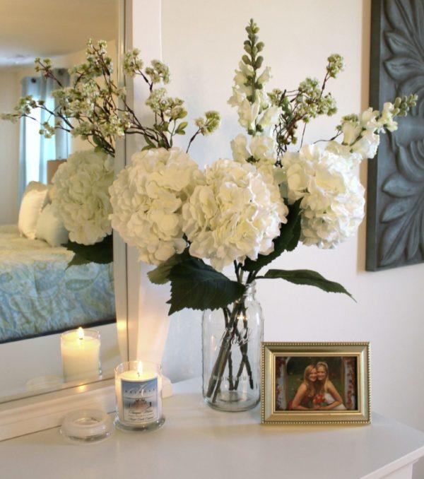 Картинка-панно с объемными орхидеями