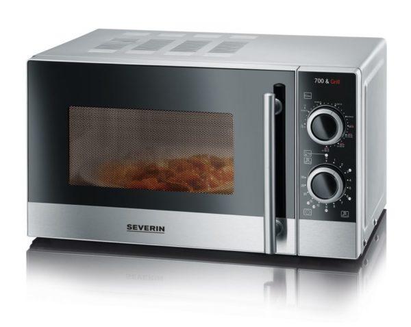 Классическая микроволновая печь вписывается не вовсе дизайнерские интерьеры