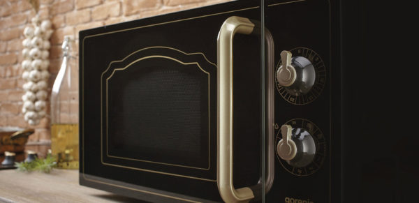Микроволновая печь в стиле Ретро