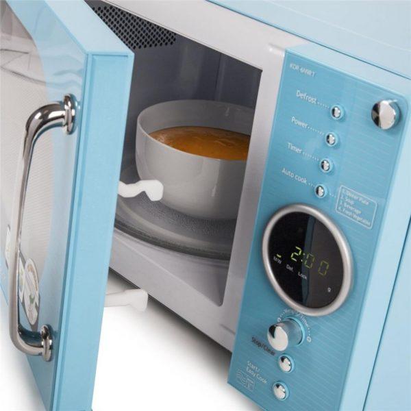 Микроволновая печь DAEWOO в стиле ретро