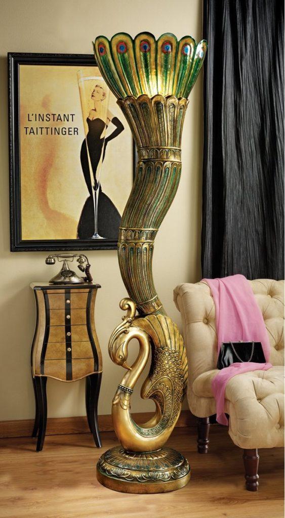 Напольная ваза в стиле Арт-деко