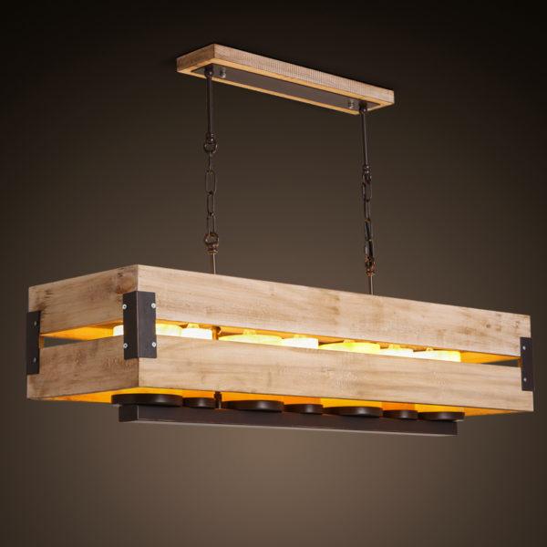 Оригинальный подвесной светильник в стиле Лофт
