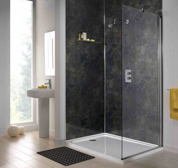 Отделка ванной комнаты пластиковыми панелями