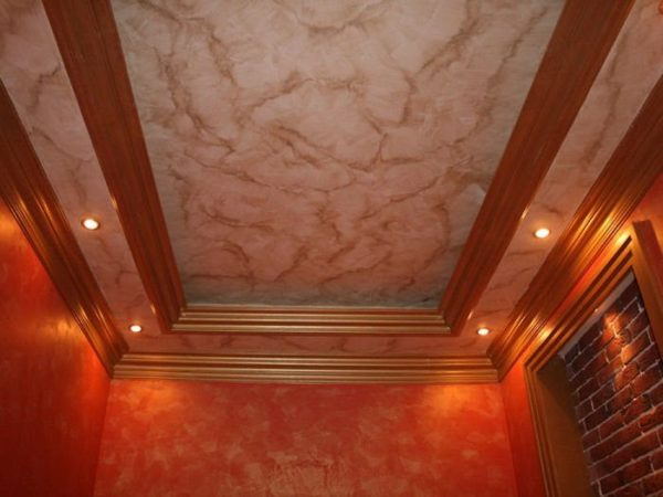 Потолок в современном интерьере