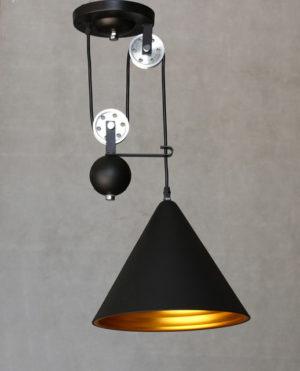 Плафон светильника Лофт в форме конуса