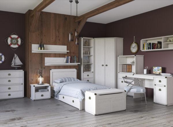 Вариант мебели представляющей благородство и уют жилого интерьера