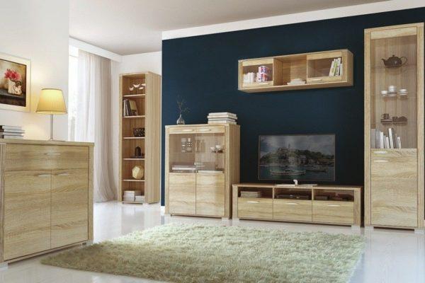 Интерьер, обустроенный при помощи мебельной коллекции «Остин»